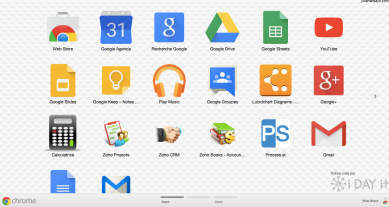 Lanceur d'application Google APPS
